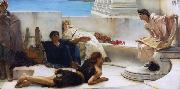 Alma-Tadema, Sir Lawrence A Reading from Homer (mk23) oil painting picture wholesale