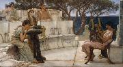Alma-Tadema, Sir Lawrence Sappho (mk23) oil painting picture wholesale