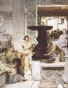 Alma-Tadema, Sir Lawrence The Sculpture Gallery (mk23) oil painting picture wholesale