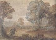 Claude Lorrain Landscape with Tobias and the Angel (mk17) oil painting picture wholesale