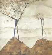 Egon Schiele Autumn Sun I (MK12) oil painting picture wholesale