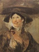 HOGARTH, William The Shrimp Girl (mk08) oil painting artist
