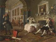 HOGARTH, William Shortly after the Marriage (mk08) oil painting artist
