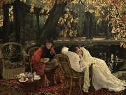 James Tissot A Convalescent (nn01) oil painting picture wholesale