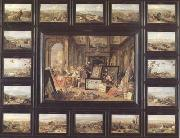 Jan Van Kessel Europe (mk14) oil painting artist