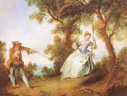 Nicolas Lancret The Swing (mk08) oil painting picture wholesale