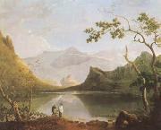 Richard  Wilson View of Snowdon from Llyn Nantlle (mk08) oil painting artist