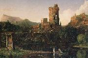 Thomas Cole Landscape Composition:Italian Scenery (mk13) oil painting picture wholesale