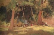 Tom roberts corroboree (nn02) oil painting picture wholesale