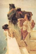Alma-Tadema, Sir Lawrence A Colen of Vantage (nn03) oil painting picture wholesale