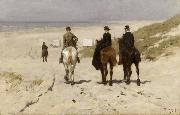 Anton mauve Riders on the Beach at Scheveningen (nn02) oil painting artist