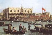 Canaletto The Bacino di S Marco on Ascension Day (mk25) oil painting picture wholesale