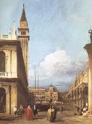 Canaletto The Piazzetta towards the Torre dell'Orologio (mk25) oil painting picture wholesale
