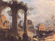Canaletto A Caprice View with Ruins (mk25) oil painting picture wholesale