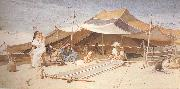 Charles rowbotham Spinners and Weavers (mk37) oil painting artist