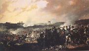 Denis Dighton The Battle of Waterloo: General advance of the British lines (mk25) oil painting picture wholesale