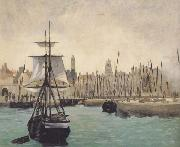 Edouard Manet Le Port de Calais (mk40) oil painting picture wholesale