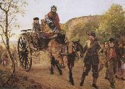 Frederick bacon barwell The Hero of the Day (mk37) oil painting picture wholesale