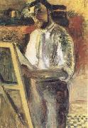 Henri Matisse Self-Portrait in Shirtsleeves (mk35) oil painting artist
