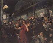 John sloan Election Night (mk43) oil painting artist