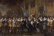 Nicolaes eliasz The Company of Captain fan claesz,Vloosmijck (mk33) oil painting artist