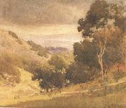 Percy Gray San Francisco Bay from the Alameda Hills (mk42) oil painting picture wholesale