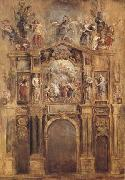Peter Paul Rubens The Arch of Ferdinand (mk27) oil painting picture wholesale
