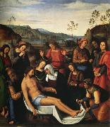 Pietro Perugino Lamentation over the Dead Christ (mk25) oil painting picture wholesale