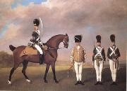 STUBBS, George Soldiers of the Tenth Light Dragoons (mk25) oil painting picture wholesale