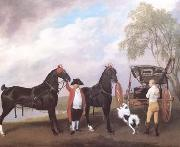 STUBBS, George The Prince of Wales' Phaeton (mk25) oil painting picture wholesale