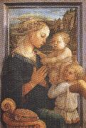 Sandro Botticelli Filippo Lippi.Madonna with Child and Angels or Uffizi Madonna (mk36) oil painting artist