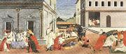 Sandro Botticelli Three miracles of St Zanobius reviving the dead (mk36) oil painting picture wholesale