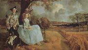 Thomas Gainsborough Mr and Mrs Andrews (nn03) oil painting picture wholesale