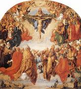 Albrecht Durer The Adoration of the Trinity oil painting artist