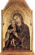Barnaba Da Modena Madonna and Child oil painting artist