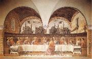 GHIRLANDAIO, Domenico Last Supper oil painting artist