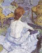 Henri de toulouse-lautrec The Toilette oil painting artist