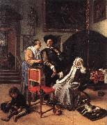 Jan Steen Doctor's Visit oil painting artist
