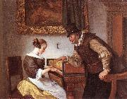 Jan Steen The Harpsichord Lesson oil painting artist