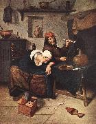Jan Steen The Drinker oil painting artist