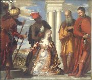 Paolo  Veronese The Martyrdom of St. Justine oil painting artist