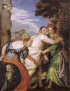 Paolo  Veronese Allegory of Vice and Virtue oil painting artist