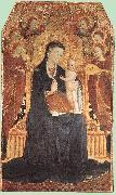 SASSETTA Virgin and Child Adored by Six Angels oil painting artist