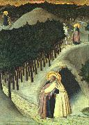 SASSETTA The Meeting of St. Anthony and St. Paul oil painting artist