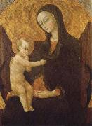 SASSETTA Madonna with Child oil painting artist