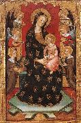 SERRA, Pedro Madonna with Angels Playing Music oil painting artist