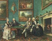 Johann Zoffany The Dutton Family oil painting reproduction