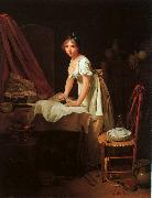 Louis Leopold  Boilly Young Woman Ironing oil painting
