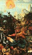 Matthias  Grunewald The Isenheimer Altarpiece oil painting reproduction