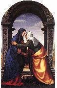ALBERTINELLI  Mariotto Visitation jj oil painting